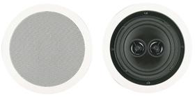 "BIC AMERICA MSR6D 6.5"" Dual Voice Coil Stereo Ceiling Speaker"