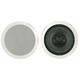 "BIC AMERICA MSR8D 8"" Dual Voice Coil Stereo Ceiling Speaker, Price/each"