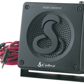 COBRA HG S300 HighGear Noise-Canceling External Speaker