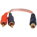 DB LINK XLY2MZ X-Series RCA Y-Adapter (2 Male - 1 Female)