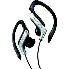 JVC HAEB75S Sport Style Ear-Clip Headphones (Silver)