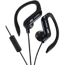 JVC HAEBR80B Sport-Clip In-Ear Ear-Clip Headphones with Microphone & Remote (Black)