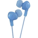 JVC HAFX5A Gumy Plus Inner-Ear Headphones (Blue)