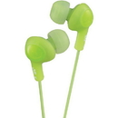 JVC HAFX5G Gumy Plus Inner-Ear Headphones (Green)