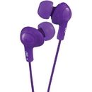 JVC HAFX5V Gumy Plus Inner-Ear Headphones (Violet)