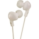 JVC HAFX5W Gumy Plus Inner-Ear Headphones (White)