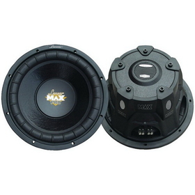 "LANZAR MAXP124D Max Pro Small 4Ω Enclosure Dual Subwoofer (12""; 1,600W)"