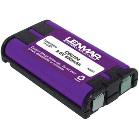 LENMAR CB0104 Panasonic KX-TG Series Cordless Phone Replacement Battery, Price/each