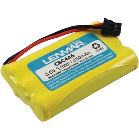LENMAR CBC446 Uniden DCT Series & DCX Series Cordless Phone Replacement Battery, Price/each