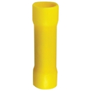 INSTALL BAY YVBC4 Vinyl Butt Connector (Yellow; 4 gauge; 25 pk)