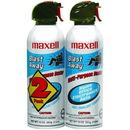 MAXELL 190026 - CA4 Blast Away Canned Air (2 pk)