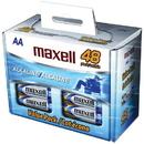 MAXELL 723443 - LR648B Alkaline Batteries, 48 pk (AA; Box)