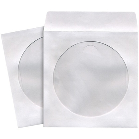 MAXELL 190133 - CD402 CD/DVD Storage Sleeves (100 pk; White), Price/each