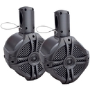 "POWER ACOUSTIK MWT-65T Marine-Grade 6.5"" 500-Watt Wake Tower Enclosure & Speaker System (Titanium)"