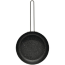 "STARFRIT 030949-012-0000 THE ROCK by Starfrit 6.5"" Personal Fry Pan with Stainless Steel Wire Handle"