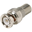STEREN 200-130 F-Jack to BNC Plug Adapter
