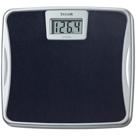 TAYLOR 73294072 Silver Platform Lithium Electronic Digital Scale