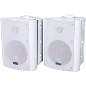 TIC CORPORATION AS P60W Indoor/Outdoor 75-Watt Speakers with 70-Volt Switching (White), Price/each