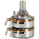 100K Audio Taper Stereo Potentiometer 1/4