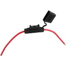 In-line Maxi Blade Fuse Holder with 8 AWG Wire Leads Parts Express
