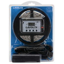 Lavolta KIT2 300 LED 16 ft. Tape Lighting Strip 12 VDC Waterproof IP65 Music Control  6A PSU