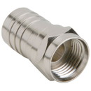 F Male Crimp For RG-6 Attached Ferrule