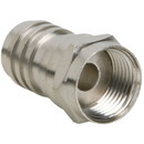 F Connector Male Crimp For RG-59 Attached Ferrule