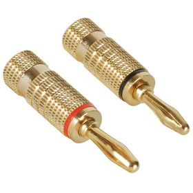 Dayton Audio BASS-GRB Banana Plug Pair Set-Screw Type