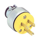 AC Power Plug 3 Conductor Yellow