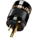 Wattgate 330i AU Black Gold Plated Audio Grade Edison AC Power Connector