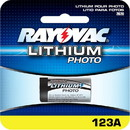 Rayovac RL123A 3V Lithium Photo / Electronic Battery
