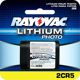 Rayovac RL2CR5 6V Lithium Photo / Electronic Battery
