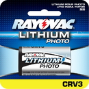 Rayovac RL CRV3 3V Lithium Photo Camera Battery