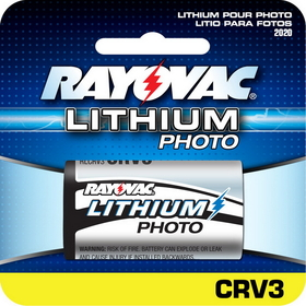 Rayovac RLCRV3 3V Lithium Primary Battery