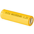 AA NiCd Cell Battery with Tabs 1000mAh
