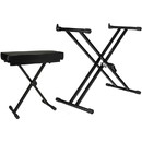 Talent Keyboard Stand and Bench Bundle