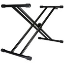 Talent QRKS Quick-Draw Double-X Keyboard Stand with One Hand Trigger Quick Release