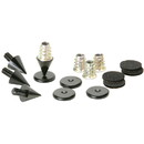 Dayton Audio DSS2-BK Black Speaker Spike Set 4 Pcs.