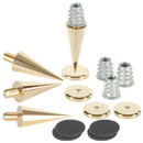 Dayton Audio DSS3-G Gold Speaker Spike Set 4 Pcs.