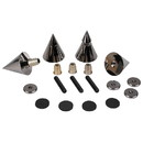 Dayton Audio DSS4-BC Black Chrome Speaker Spike Set 4 Pcs.