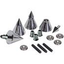 Dayton Audio DSS4-CH Chrome Speaker Spike Set 4 Pcs.
