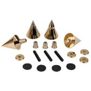 Dayton Audio DSS4-G Gold Speaker Spike Set 4 Pcs.