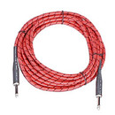 Peavey PV 15 ft. Multi-Color Red Instrument Cable