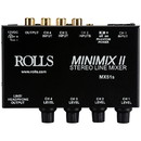 Rolls MX51s Mini-Mix II 4-Ch Mixer with Headphone Output
