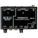 Rolls MB15b ProMatch Balanced/Unbalanced Converter 3.5mm/RCA/XLR