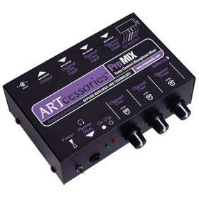 ART ProMIX 3-Channel Mic Mixer