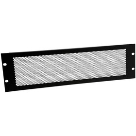 Penn-Elcom R1286/3UVK Perforated Rack Panel 3U