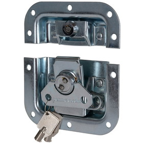 "Penn-Elcom L905/927Z Locking Butterfly Latch 4.125"" Zinc"