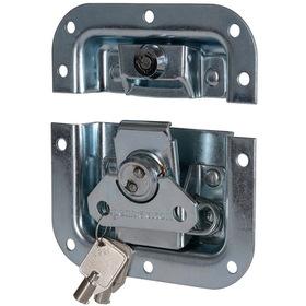 """Penn-Elcom L905/927Z Locking Butterfly Latch 4.125"""" Zinc"""