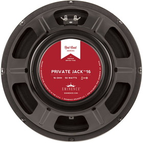"Eminence Red Coat Private Jack 12"" Guitar Speaker 16 Ohm"